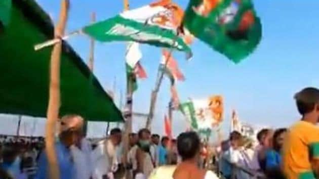 A senior leader of the party said that five out of six assembly segments of Madhubani Lok Sabha, going to the polls in the second phase, have rebel candidates. (Videograb)