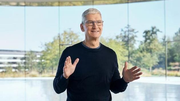 Apple CEO Tim Cook attributed at least part of the success to the company's new online retail store in the country(via REUTERS)