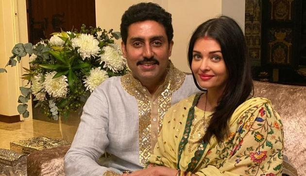 Abhishek Bachchan have shared a new picture with Aishwarya Rai.