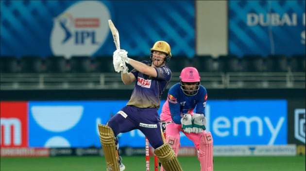 Eoin Morgan scored a fifty. (IPL/Twitter)