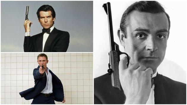 Pierce Brosnan, Daniel Craig played James Bond after Sean Connery.