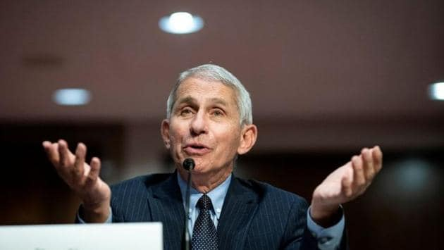 """The White House attacked Dr Anthony Fauci for giving credit to Democrat Joe Biden's presidential campaign for """"taking it seriously from a public health perspective.""""(Reuters File Photo)"""