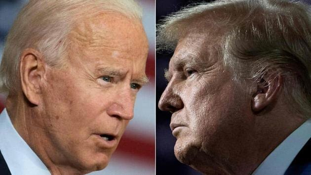 Joe Biden has made the Donald Trump administration's response to the epidemic the centre of his campaign(AFP Photo)