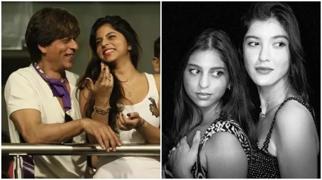Suhana Khan is celebrating her father Shah Rukh Khan and best friend Shanaya Kapoor' birthdays.