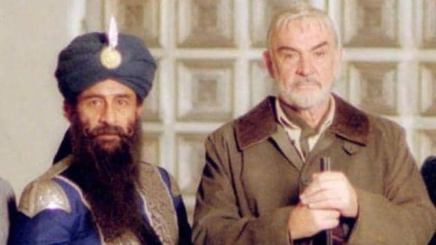 Naseeruddin Shah with Sean Connery in The League of Extraordinary Gentlemen.