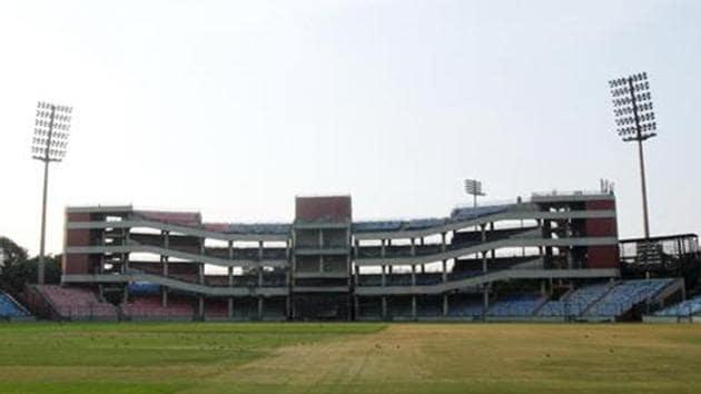 File phot of Delhi's Feroz Shah Kotla Stadium.(HT Archives)