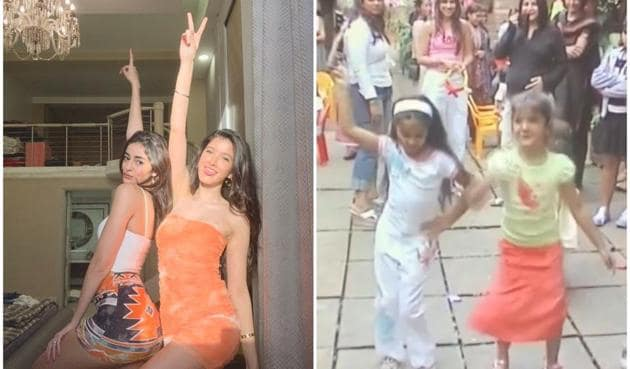 Ananya Panday and Shanaya Kapoor looked adorable in the throwback video shared by Bhavana Pandey.