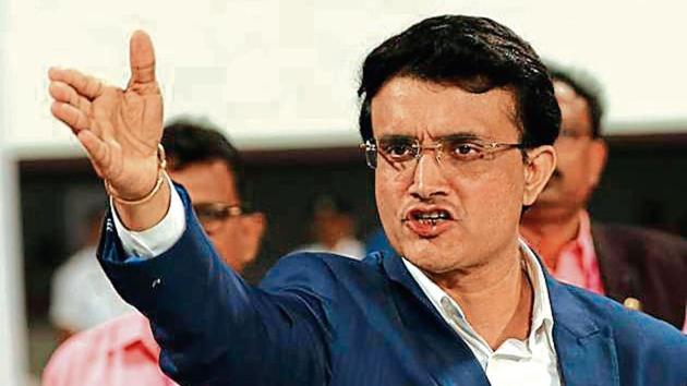 BCCI president Sourav Ganguly says that India has the pace attack to match that of Australia.(BCCI)