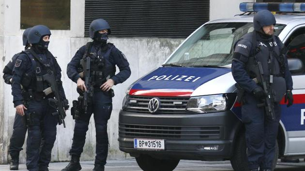 People in Vienna have been urged to stay at home if possible Tuesday.(AP)