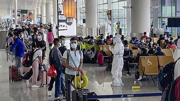 special international passenger flights have been operating in India under the Vande Bharat Mission since May and under bilateral air bubble arrangements formed between India and other countries since July.(PTI file photo)