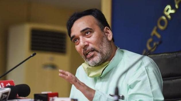 Delhi Environment Minister Gopal Rai(PTI photo)