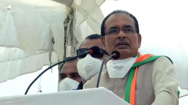 Madhya Pradesh CM Shivraj Singh Chouhan.(File photo)