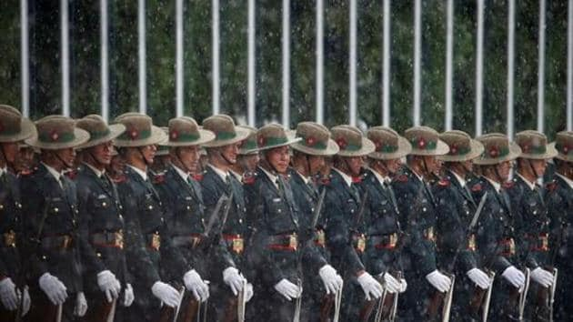 India, even as it respects Nepali sovereignty, sees the Nepal army as a friend which will respect its security sensitivities, while for the Nepal army, the Indian Army has been the first port of call during crises.(REUTERS)