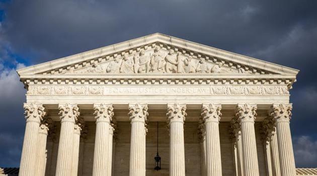 The US Supreme Court in Washington(Bloomberg photo)
