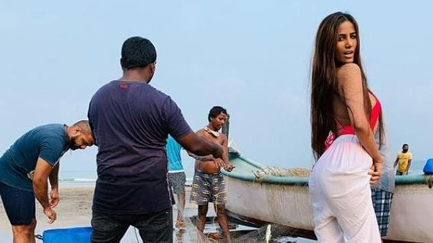Poonam Pandey was in Goa in September.