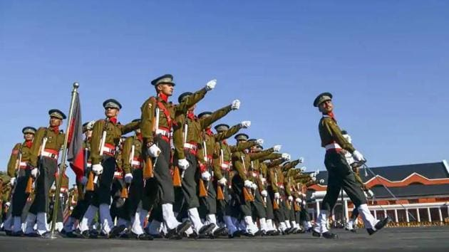 The increased retirement age of officers will allow colonels, brigadiers and major generals to serve longer, with jawans and junior commissioned officers from some non-combat branches also getting service extension that will see them retire at the age of 57 instead of around 40 to 52. (PTI photo)