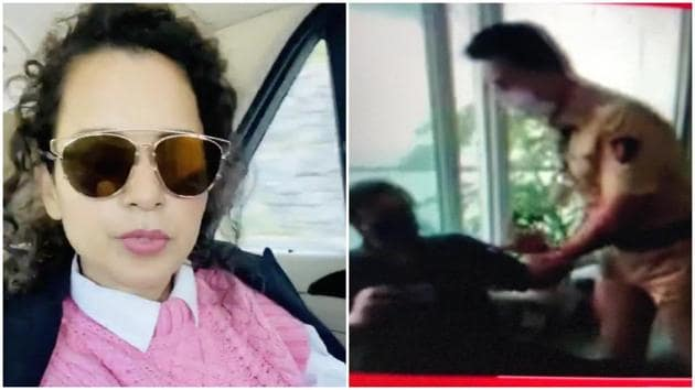 Kangana Ranaut has shared a video message after Arnab Goswami's detention.