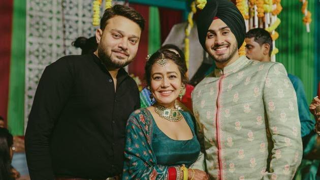 Neha Kakkar and Rohanpreet on their wedding