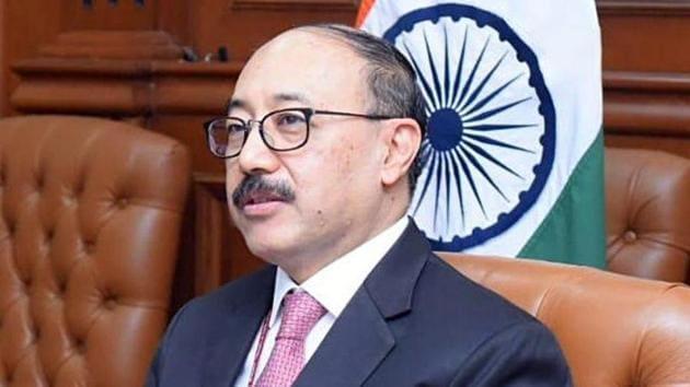 Foreign Secretary Harsh V Shringla(ANI)