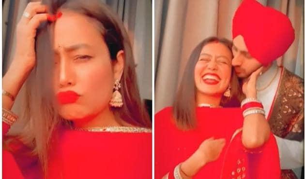 Neha Kakkar and Rohanpreet Singh got married last month.