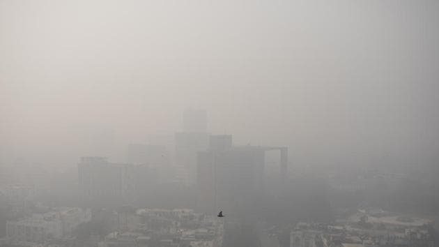 Advocate Balendu Shekhar, appearing for the Environment Ministry, told the NGT that there is no conclusive finding on relation of air pollution with Covid mortality and they have written to the ministry of health and the ministry of earth sciences seeking their opinion on the issue .(AP Photo)