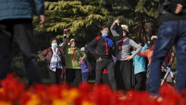China is guarding itself against a resurgence in coronavirus cases rising around the world.(AP)