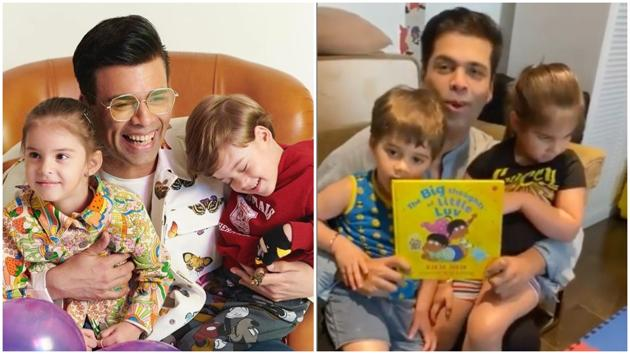Karan Johar is launching a children's book.