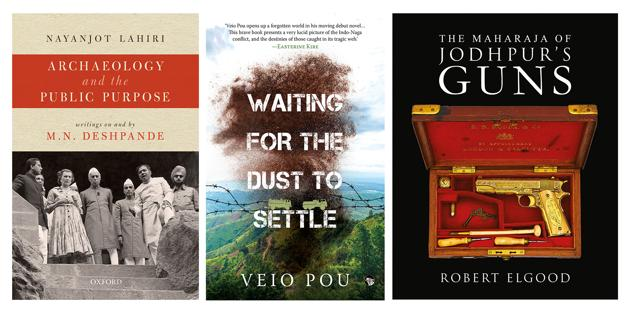On the reading list this week is a book on archaeology in India, a volume on the guns of a royal collector, and a searing debut novel on Naga life in the troubled 1980s and 1990s.(HT Team)