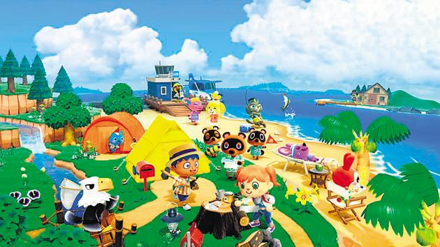 A still from Animal Crossing. Parties, get-togethers and brunches are moving offline again, while the threat from the pandemic remains the same.(Nintendo)