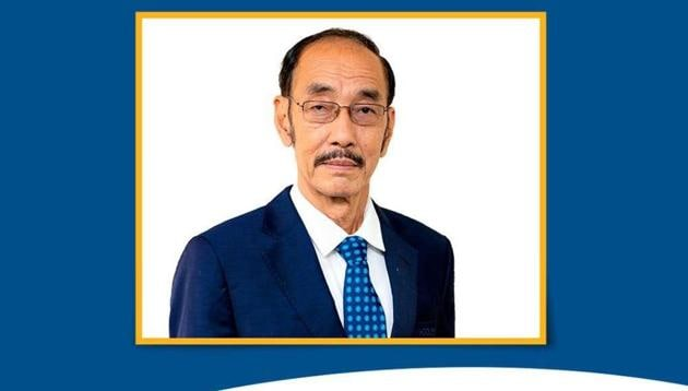 Ningombam becomes the first President from the North East region to head Hockey India(Image Credit: Hockey India)