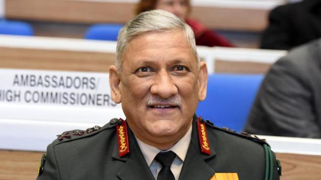 General Bipin Rawat.(HT archive)