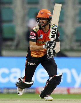 Abu Dhabi: Manish Pandey of Sunrisers Hyderabad plays a shot during the eliminator match of Indian Premier League (IPL) against Royal Challengers Bangalore, in Abu Dhabi, Friday, Nov. 6, 2020. (PTI Photo/Sportzpics for BCCI) (PTI06-11-2020_000243B) (PTI)