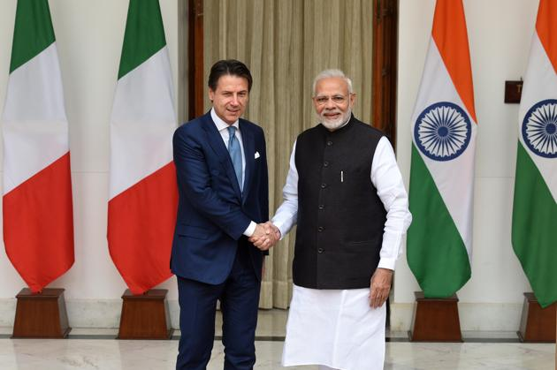 As far as regional cooperation is concerned, Italy is aware that the Indo-Pacific region plays a crucial role(Mohd Zakir/HT PHOTO)