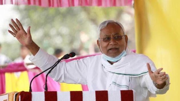 Bihar chief minister Nitish Kumar.(HT file)