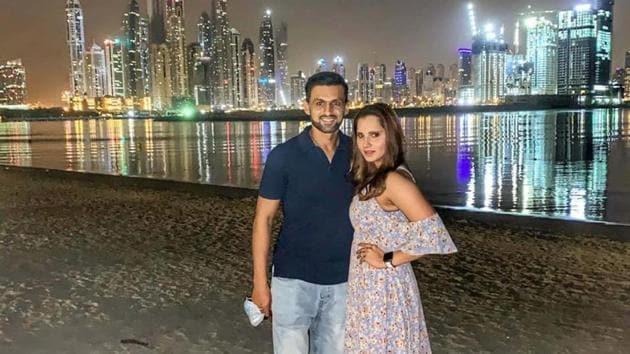 Shoaib Malik and Sania Mirza(Sania Mirza/Instagram)