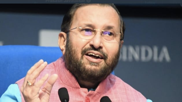 Union Environment Minister Prakash Javadekar virtually inaugurated a compressed biogas demonstration plant in Pune for biomass production(Twitter)