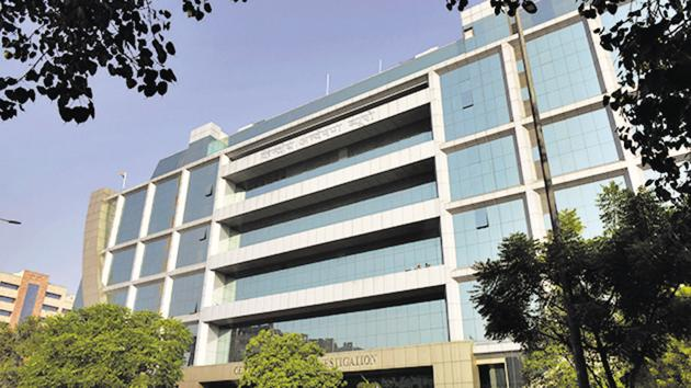 A view of Central Bureau of Investigation (CBI) headquarters at Lodhi road in New Delhi, India.(Sanchit Khanna/HT PHOTO)