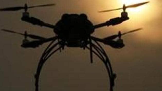 IGRUA Director Krishnendu Gupta said drone pilot training would begin shortly at the institute's campus located at Fursatganj in Amethi.(Raj K Raj/ Hindustan Times representative image)