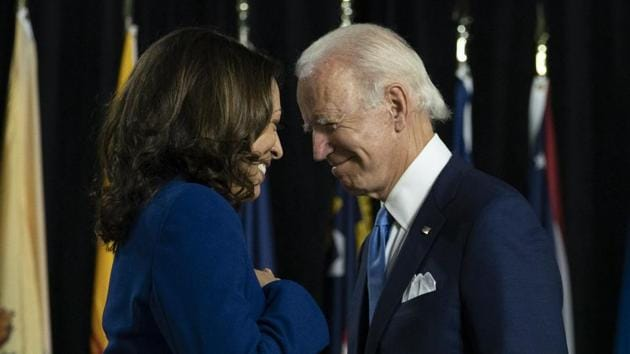 Joe Biden beats Donald Trump to become the 46th President of the United States. With this victory, Kamala Harris made history as the first woman, the first Black American and the first Asian American vice-president of America.(AP)