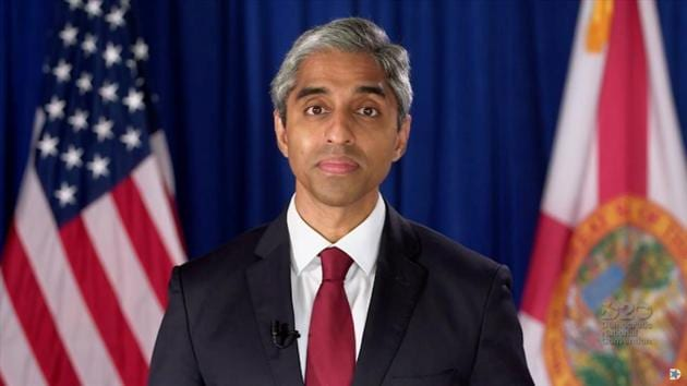 Former Surgeon General of the United States Dr. Vivek Murthy (File Photo: REUTERS)(REUTERS)