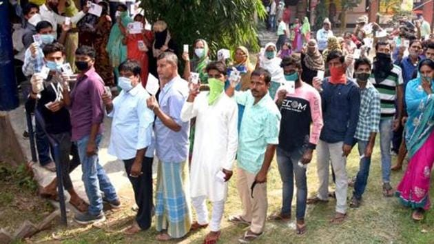 Polling for the third phase in 78 constituencies across 78 districts started at 7am.(ANI file photo)