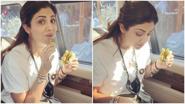 Shilpa Shetty had the best Sunday feast.