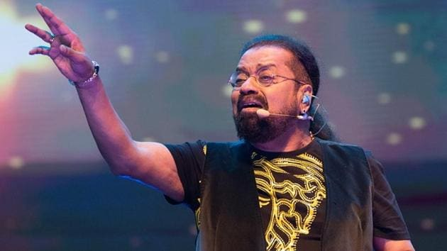 Singer Hariharan during his performance at NH7 Weekender last year.