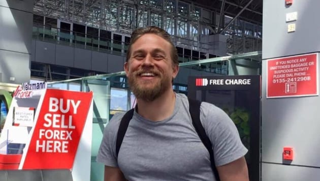 Charlie Hunnam had Covid-19 earlier this year.