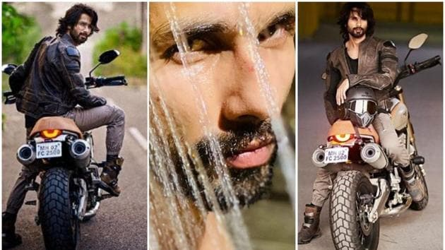 Shahid Kapoor has been busy shooting for Jersey.