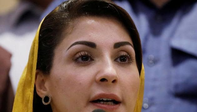 Maryam Nawaz, the daughter of Pakistan's former Prime Minister Nawaz Sharif and leader of the Pakistan Democratic Movement (PDM), an alliance of political opposition parties, addresses a news conference in Karachi, Pakistan.(Reuters)