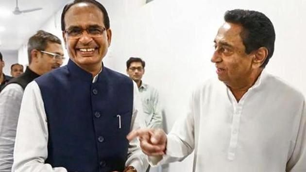 Kamal Nath has expressed confidence that Congress will storm back to power by sweeping the by-polls in Madhya Pradesh.(PTI Photo/Representative use)