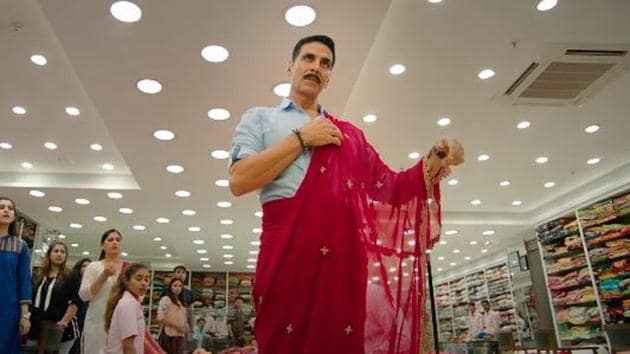 Akshay Kumar plays a character possessed by the spirit of a transgender person in Laxmii.