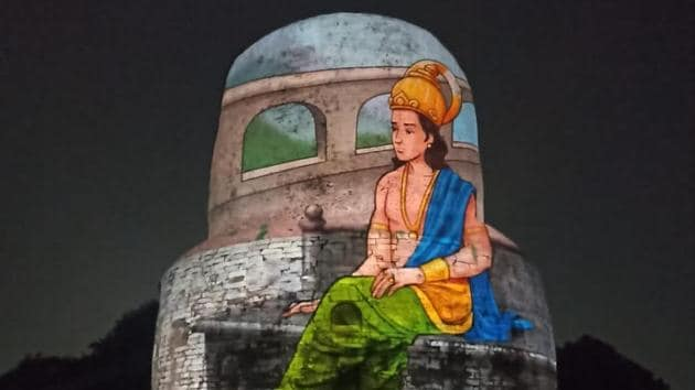 The show is a retelling of Lord Buddha's life and his preaching. Sarnath is a holy site, where Lord Buddha had delivered his first sermons.(Sourced)