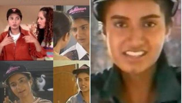Kajal Mathur was played by Bhairavi Raichura in Hum Paanch.